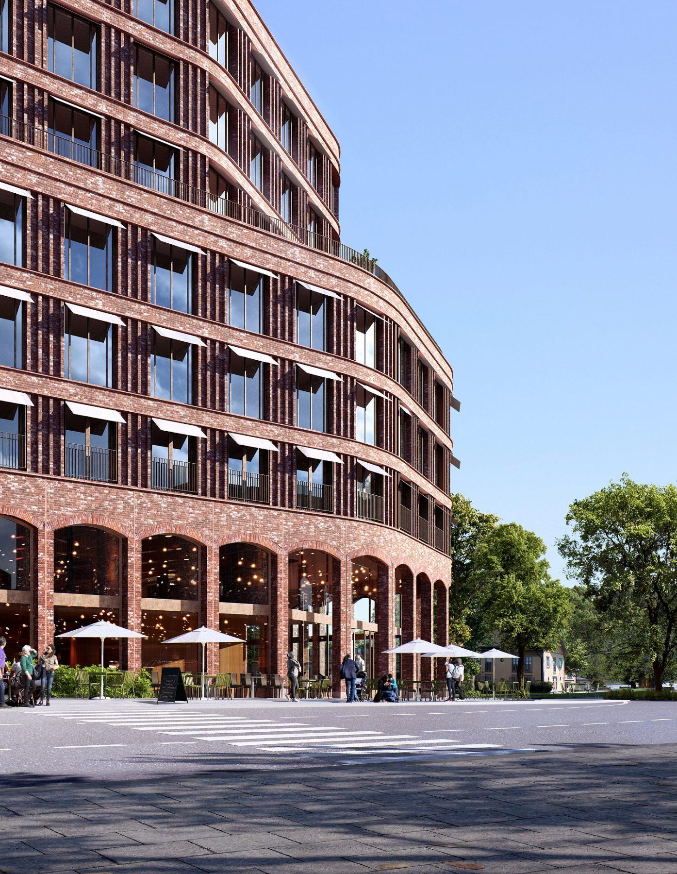 Hotell Östra Hagastaden