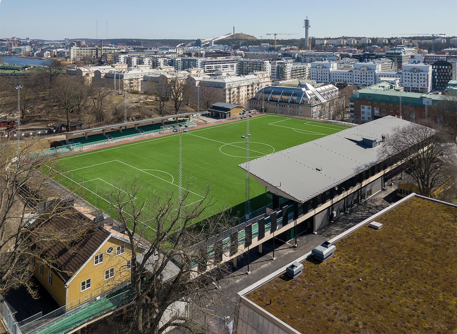 Hammarby IP, Kanalplan